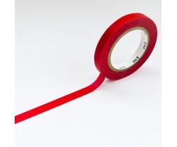 MT Washi páska 6mm, slim H - Red