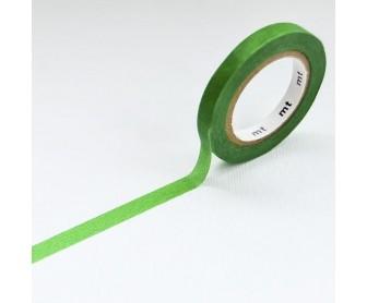 MT Washi páska 6mm, slim H - Green