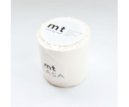 MT Washi páska 50mm, casa matte white