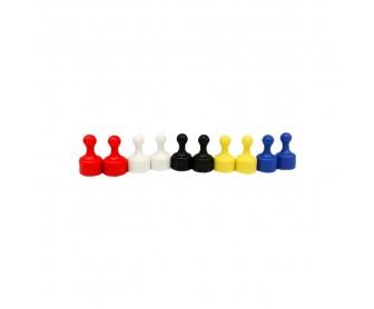 Magnetické figurky barevné 10ks